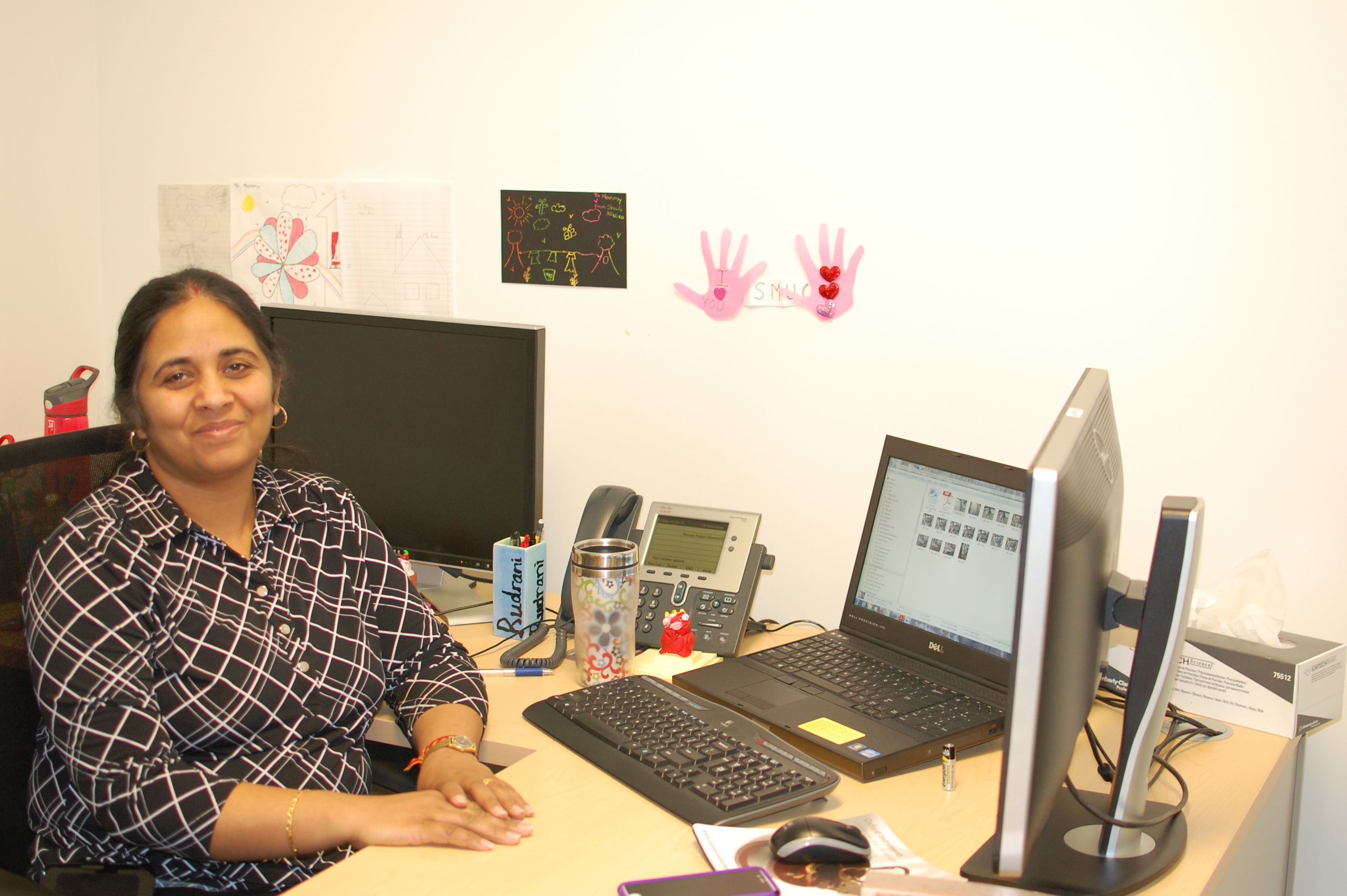 Renuka Rajput-Ghoshal, senior staff engineer in the lab's magnet group.