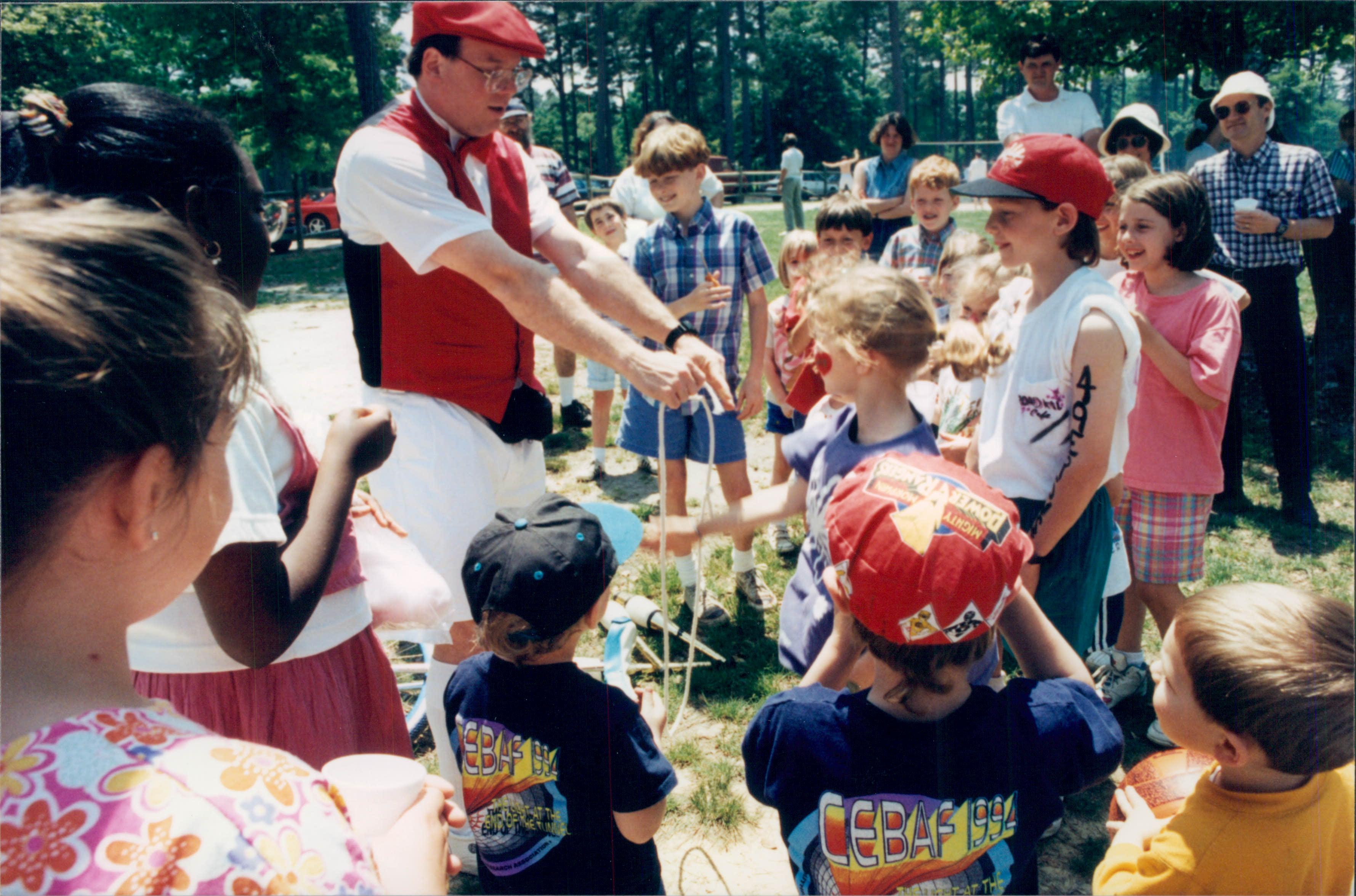 1995 CEBAF Family Picnic, May 13, 1995