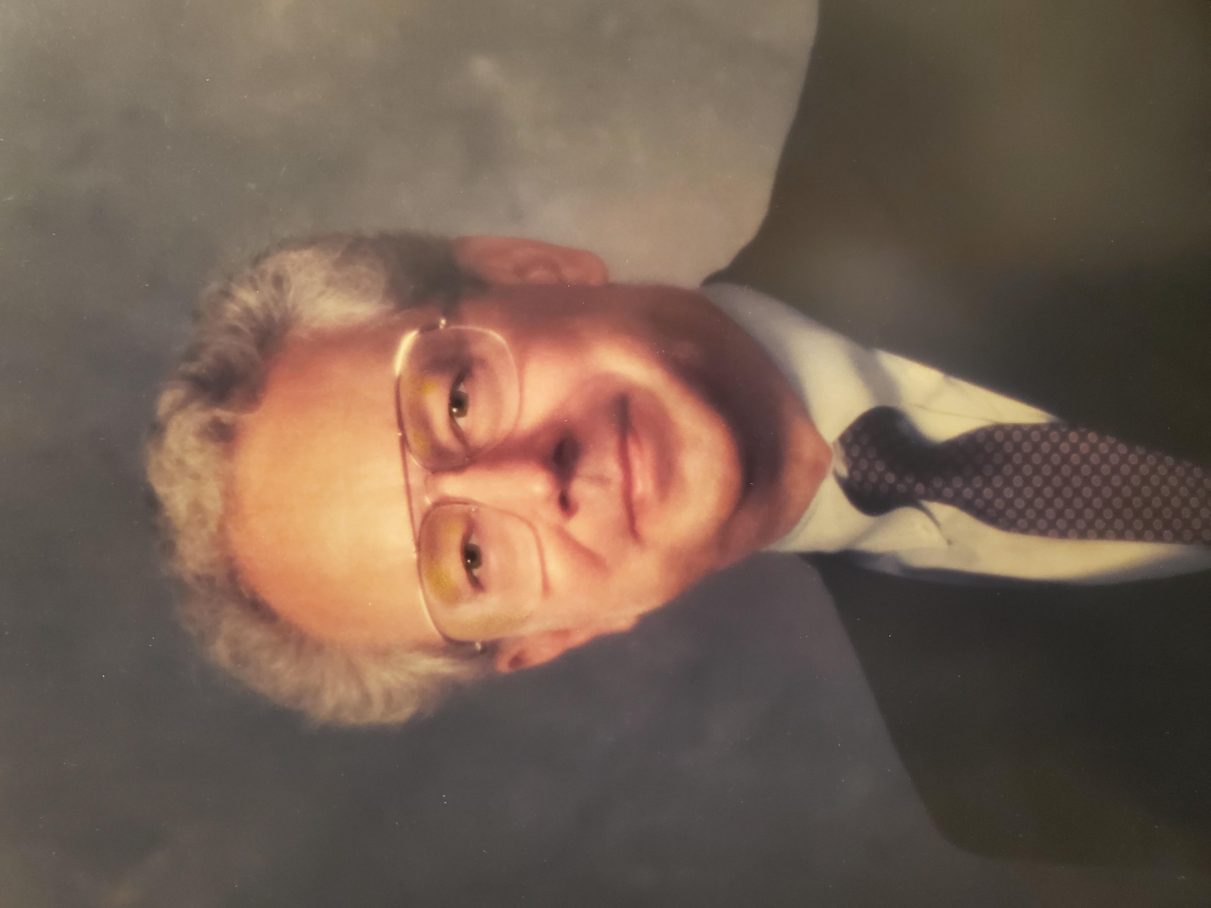 Portrait of CEBAF founder, James McCarthy (1938-2021).