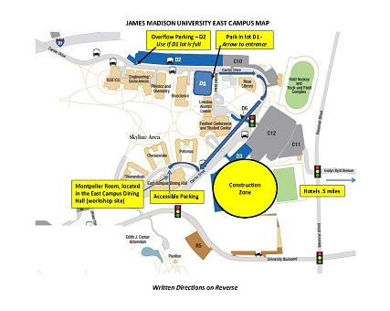 James Madison Campus Map.Jefferson Lab Quark Hadron Duality Workshop