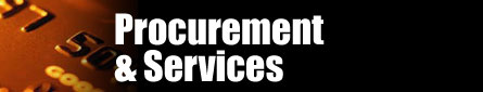 Procurement and Services