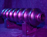 7 cell niobium superconducting cavity