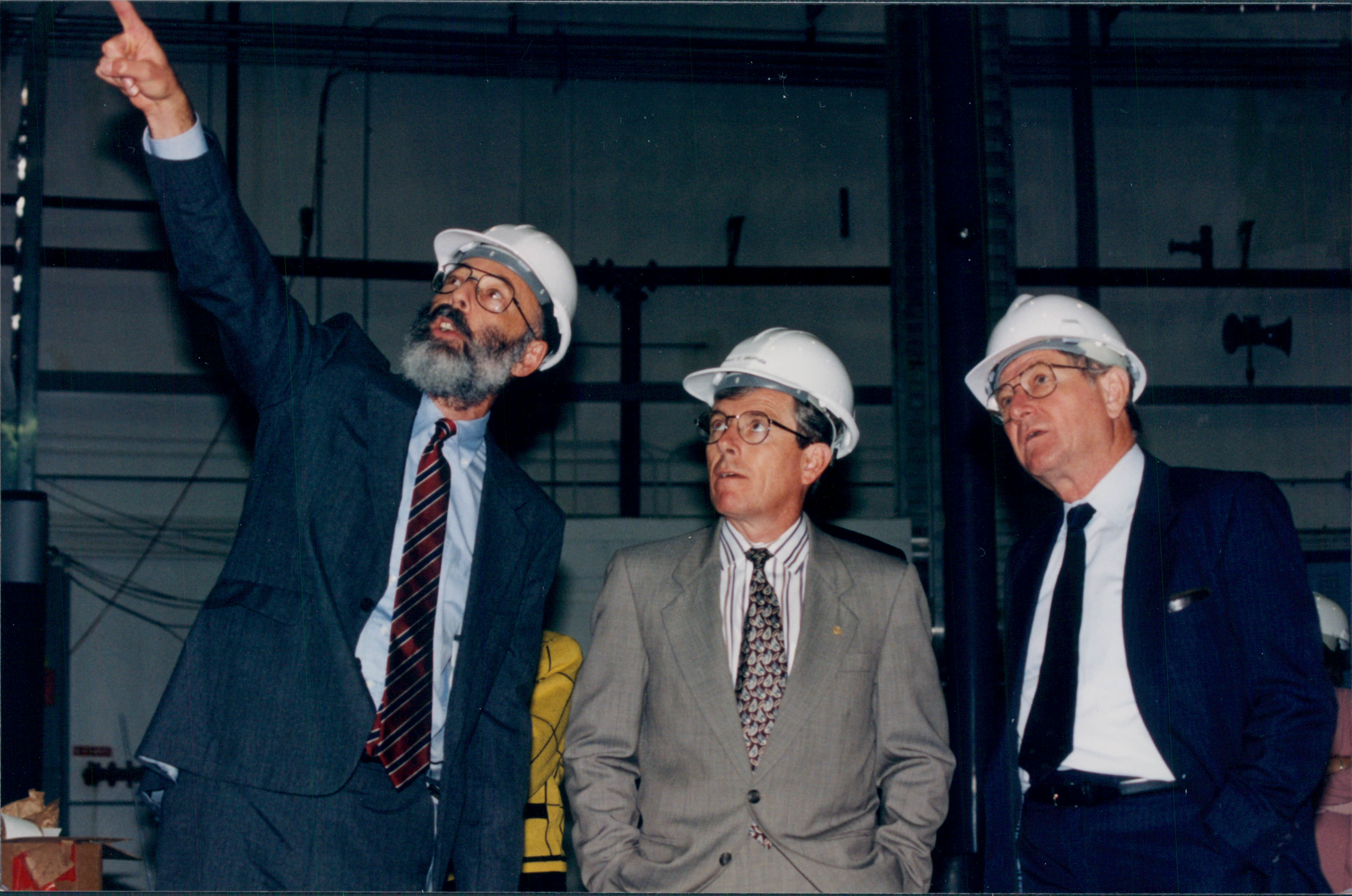 Nathan Isgur, Energy Secretary Robert Skunda, Hermann Grunder
