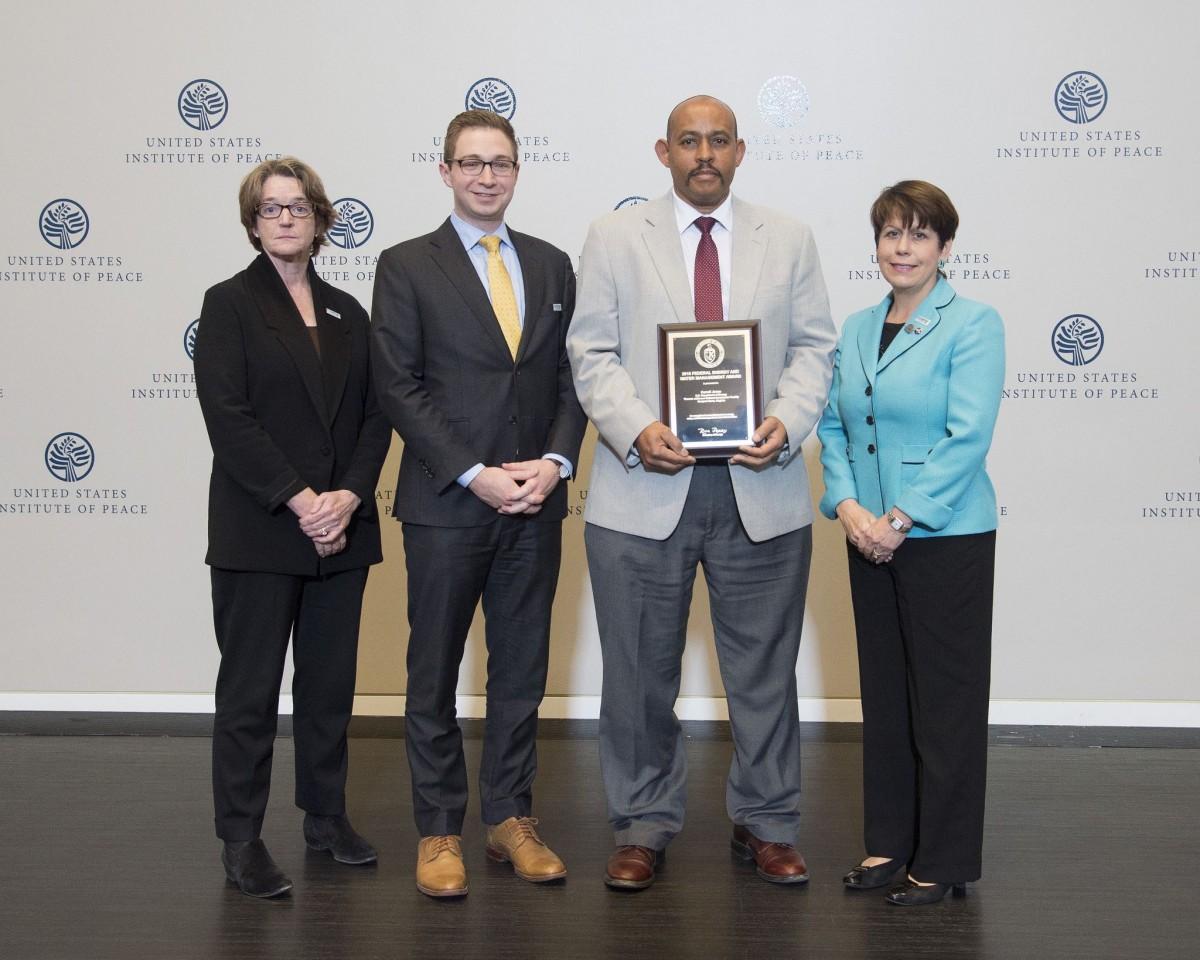 Jefferson Lab Team Accepts Award