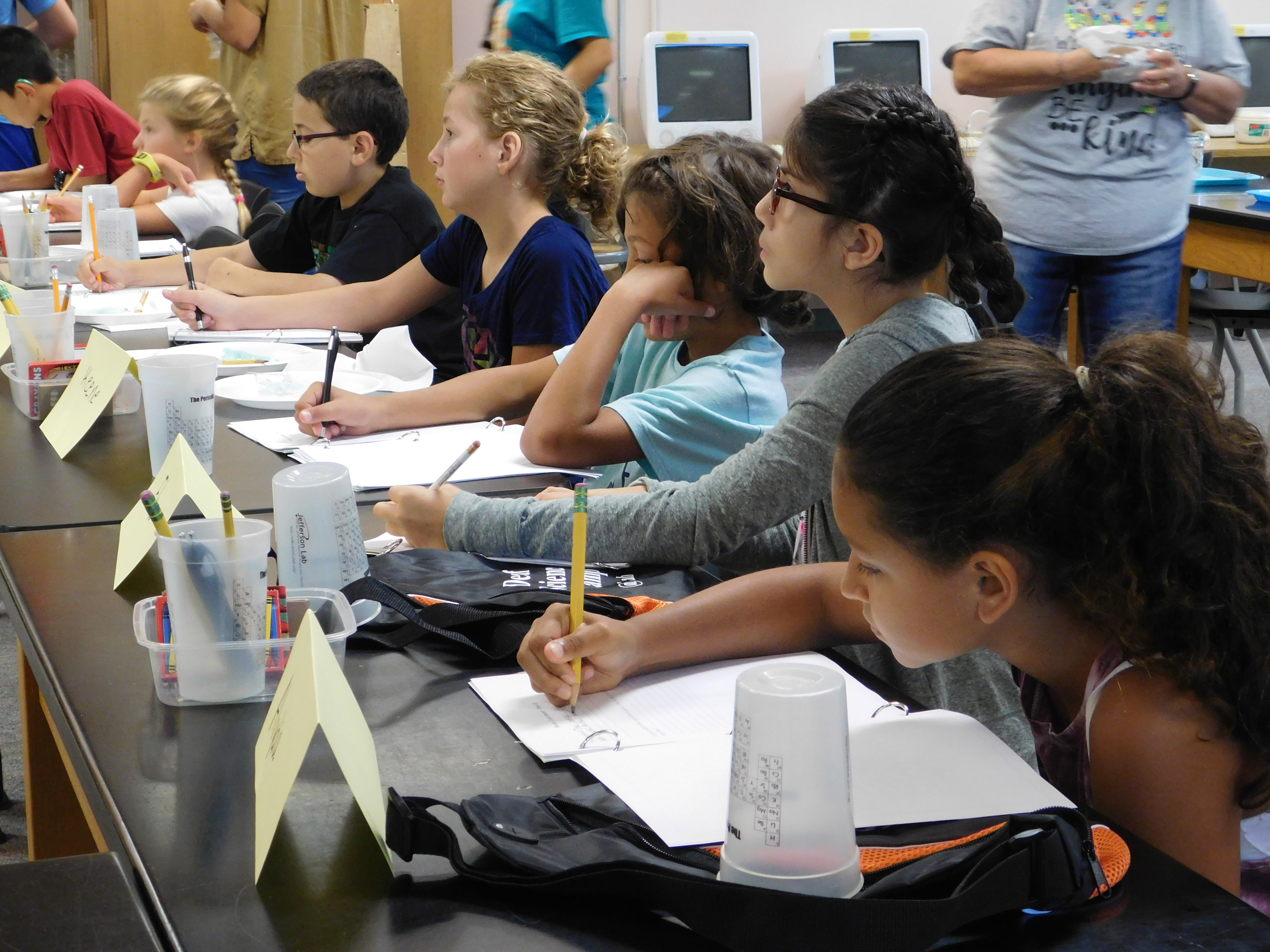 Summer Science Camp Activities