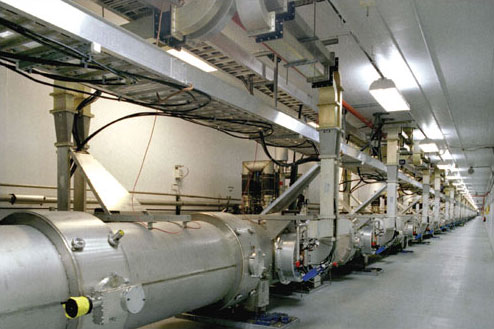 Jefferson Lab's Accelerator Tunnel