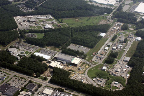 An Aerial View of Jefferson Lab Campus
