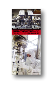 Superconducting Radio Frequency Technology Brochure