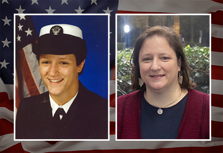 Salute to Veterans with Lisa Loewus, U.S. Navy and Navy Reserves