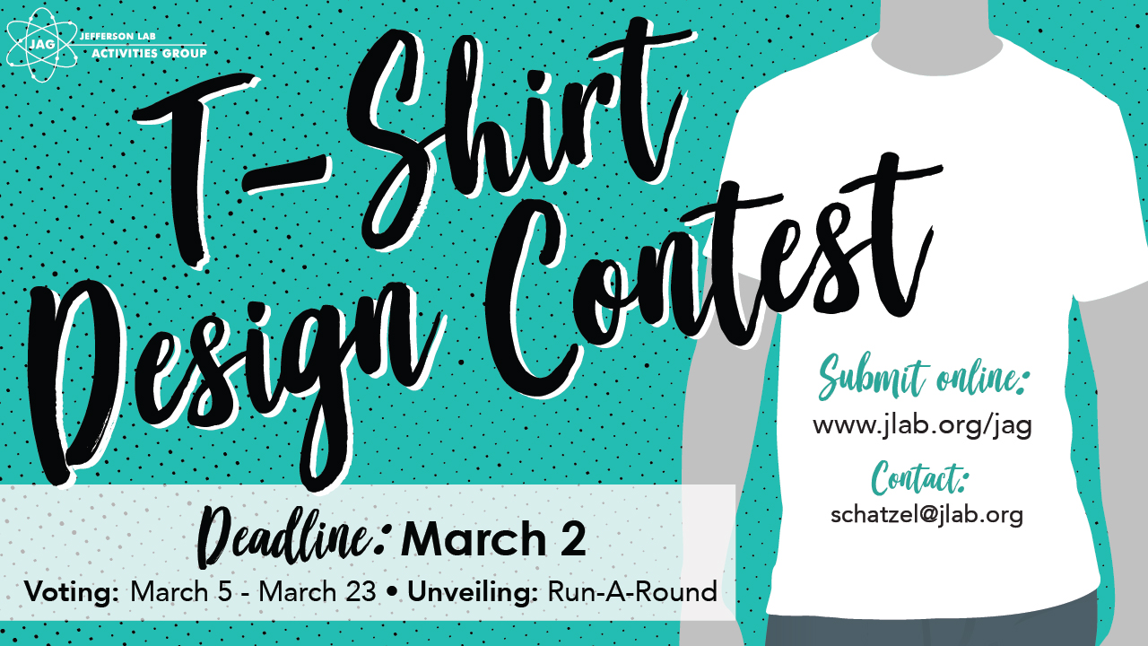 jag seeks design ideas for 2018 jlab t shirt contest kicks off february 9 submission deadline is march 2 - T Shirt Design Ideas