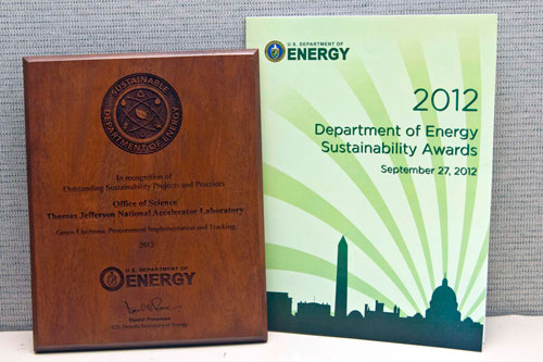 2012 Sustainability Award