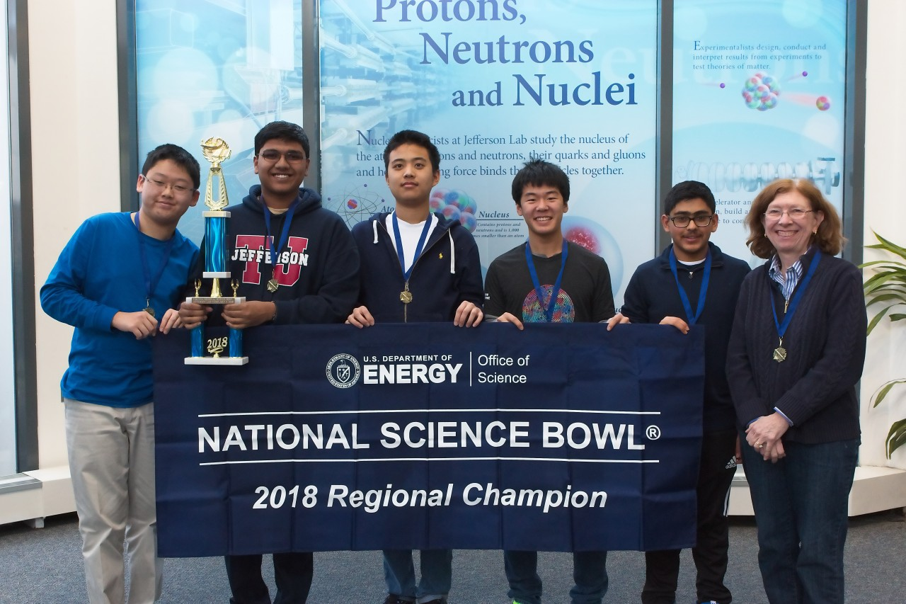 1st place - Thomas Jefferson High School for Science and Technology