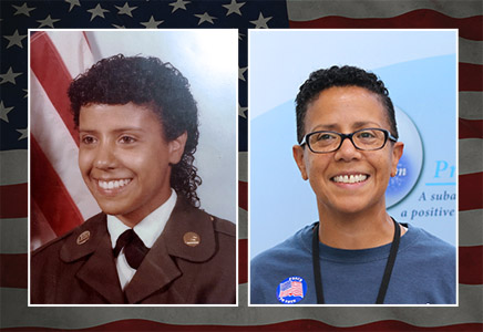 Maria Polanco-Mann, Army, 1982-2002