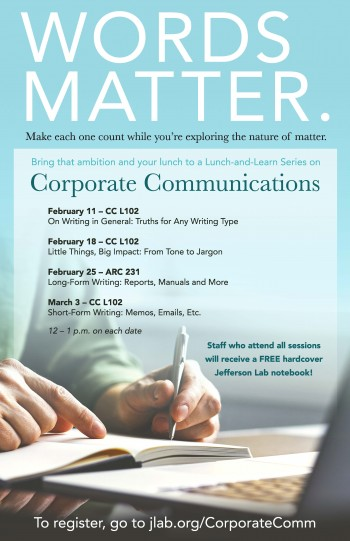 Corporate Communication Writing Workshop poster image