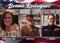 Salute to Veterans with Bonnie Rodriguez, U.S. Marines and Navy