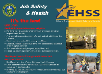 Job Safety and Health Poster
