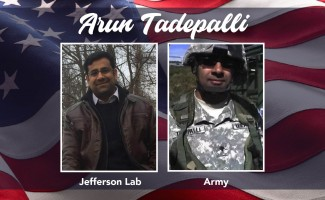 Salute to Veterans with Arun Tadepalli, U.S. Army