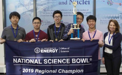 2019 Va. Regional HS Science Bowl winners