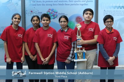 Farmwell Station Middle School - 3rd Place
