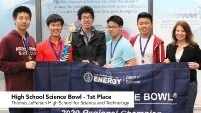First Place - Thomas Jefferson High School for Science and Technology (Alexandria)