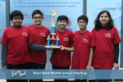 River Bend Middle School - 4th Place