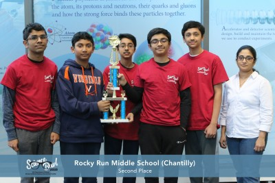Rocky Run Middle School - 2nd Place