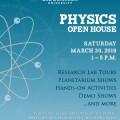 ODU Physics Open House Flyer